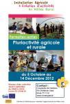 Formation-action CIVAM « Pluriactivité agricole et rurale » - automne 2012