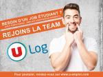 U Log propose plus de 400 CDI étudiants à temps partiel en France dont 60 en Occitanie.