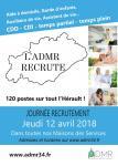 Journée recrutement à l'ADMR de l'Hérault le 12 avril : 120 postes à pourvoir