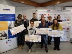 Initiative Cœur d'Hérault a remis des prêts d'honneur à 0% à 8 créateurs d'entreprises.