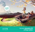 Bachelor Animation 2D & Stop Motion : le nouveau cursus proposé par ArtFX à la rentrée 2019