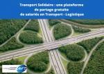 [COVID-19] Transport/logistique : une plateforme gratuite pour partager la main-d'œuvre