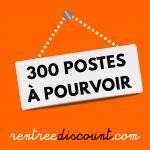 RentreeDiscount recrute à Carcassonne pour la période estivale : 300 préparateur(trice)s de commandes et 5 chefs d'équipes
