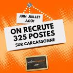 Rentreediscount recrute plus de 300 saisonniers à Carcassonne.